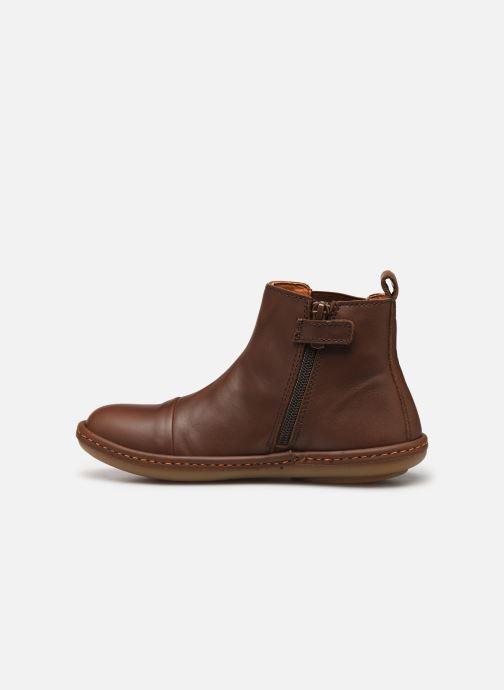 Boots en enkellaarsjes Art Kio 4A-709 Bruin voorkant