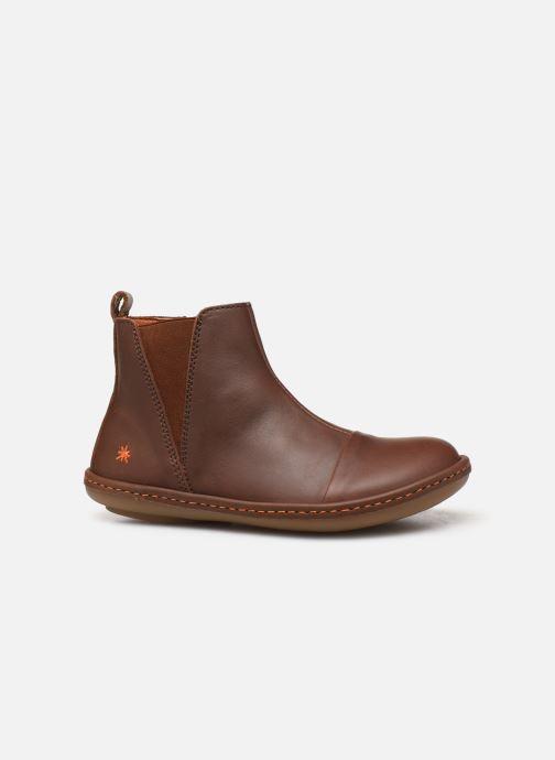 Boots en enkellaarsjes Art Kio 4A-709 Bruin achterkant