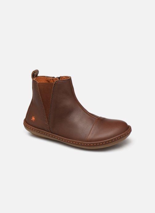 Boots en enkellaarsjes Art Kio 4A-709 Bruin detail