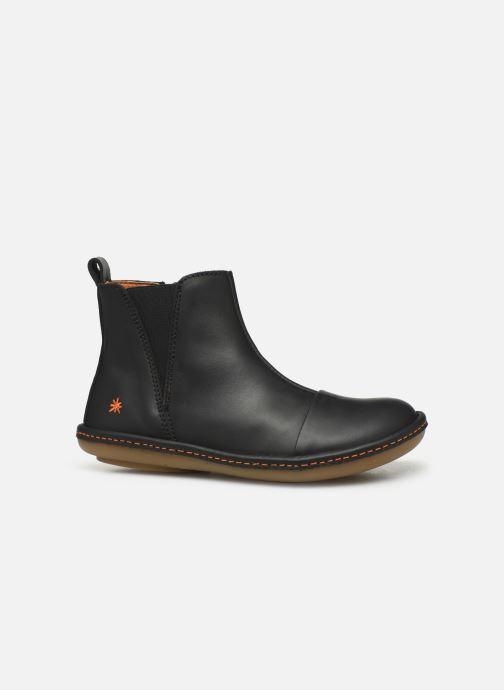 Boots en enkellaarsjes Art Kio 4A-709 Zwart achterkant