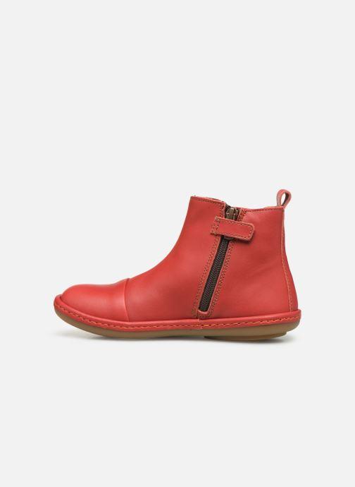 Bottines et boots Art Kio 4A-709 Rouge vue face