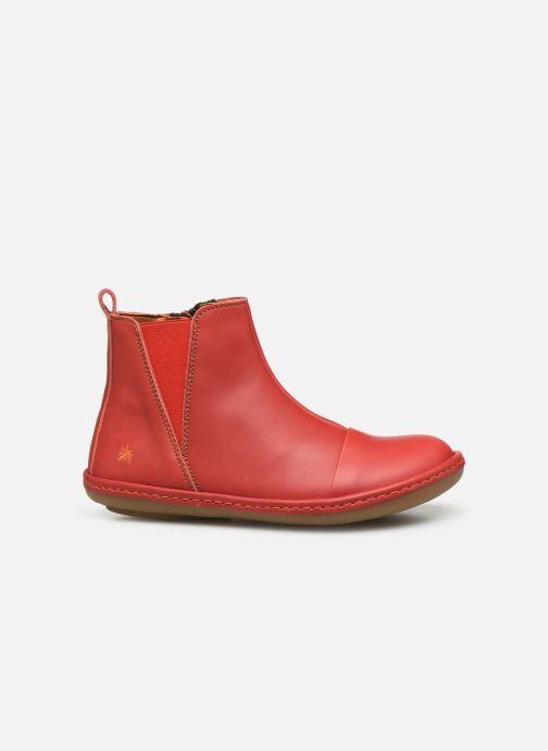Boots en enkellaarsjes Art Kio 4A-709 Rood achterkant