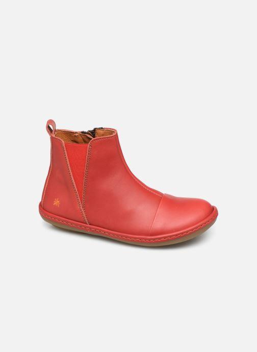 Bottines et boots Art Kio 4A-709 Rouge vue détail/paire