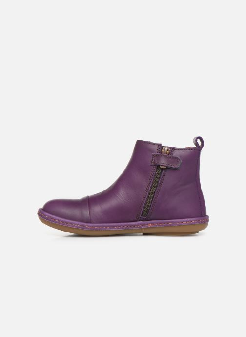 Ankle boots Art Kio 4A-709 Purple front view