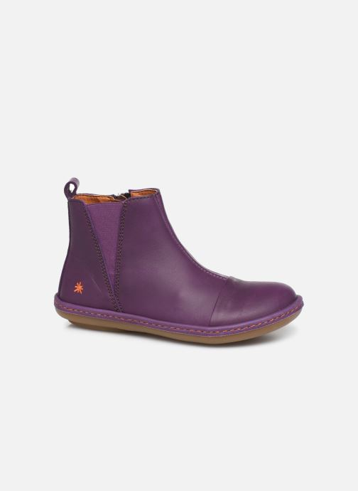 Ankle boots Art Kio 4A-709 Purple detailed view/ Pair view