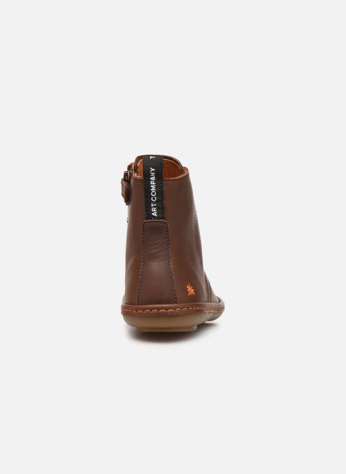 Boots en enkellaarsjes Art Kio 4A-710 Bruin rechts