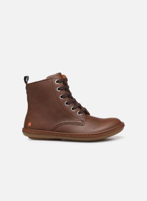 Boots en enkellaarsjes Art Kio 4A-710 Bruin achterkant