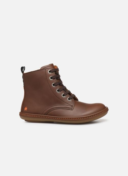 Stiefeletten & Boots Art Kio 4A-710 braun ansicht von hinten
