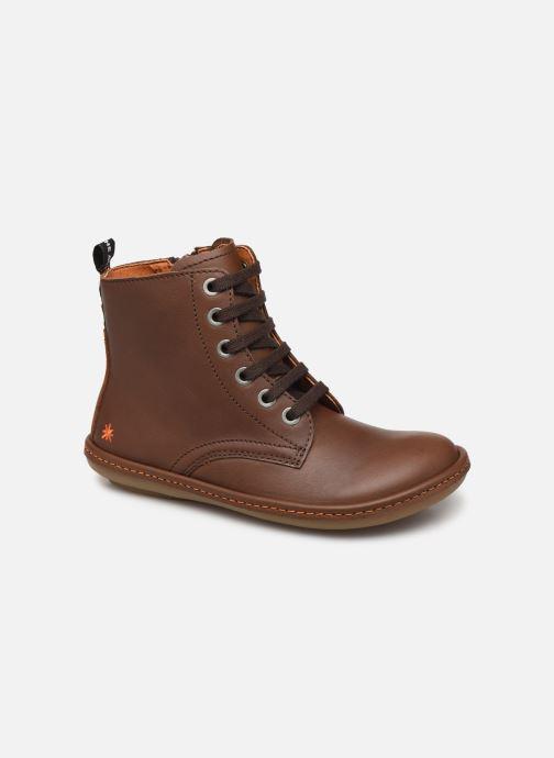 Boots en enkellaarsjes Art Kio 4A-710 Bruin detail