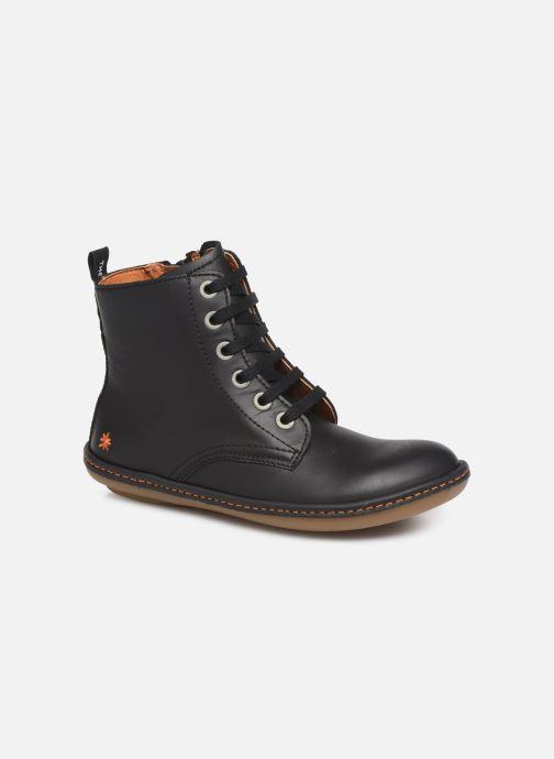 Ankle boots Art Kio 4A-710 Black detailed view/ Pair view