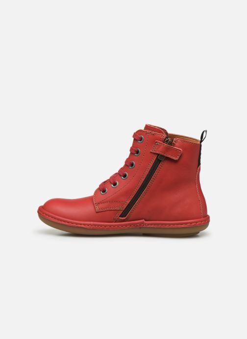 Bottines et boots Art Kio 4A-710 Rouge vue face