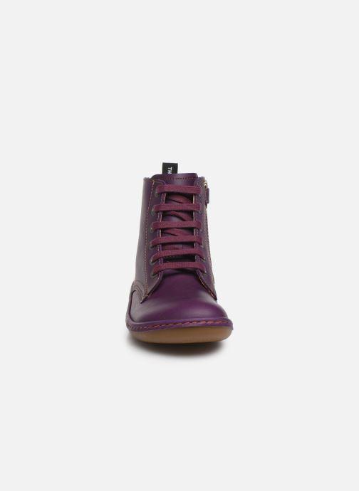 Stiefeletten & Boots Art Kio 4A-710 lila schuhe getragen