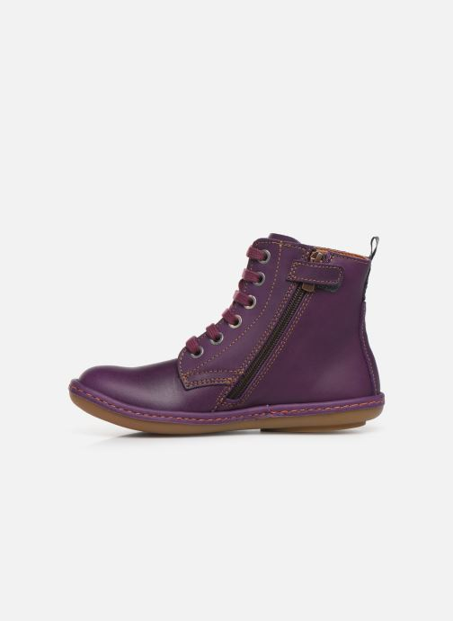 Stiefeletten & Boots Art Kio 4A-710 lila ansicht von vorne