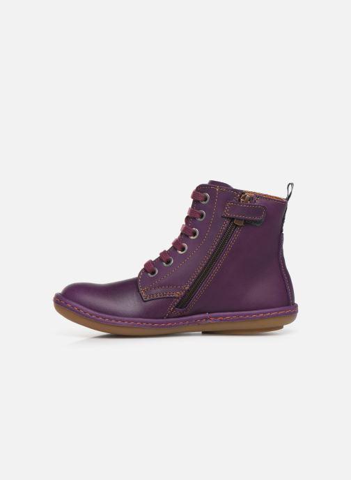 Boots en enkellaarsjes Art Kio 4A-710 Paars voorkant