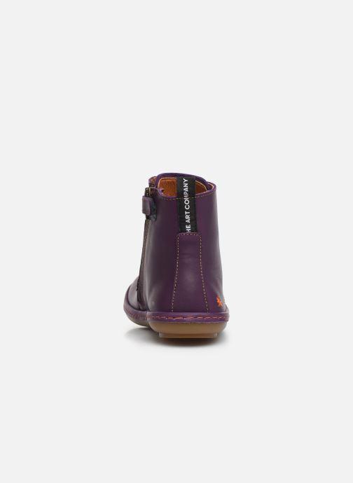 Bottines et boots Art Kio 4A-710 Violet vue droite