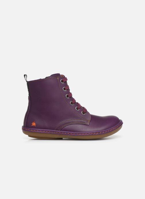 Stiefeletten & Boots Art Kio 4A-710 lila ansicht von hinten