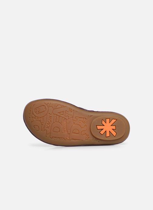 Stiefeletten & Boots Art Kio 4A-710 lila ansicht von oben