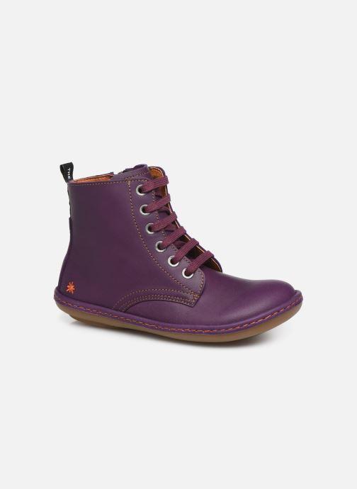 Bottines et boots Art Kio 4A-710 Violet vue détail/paire
