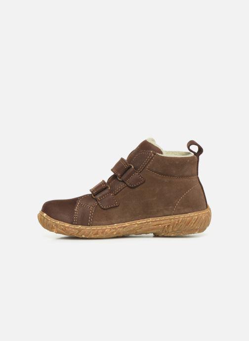 Sneakers El Naturalista Nido 5E-768 Marrone immagine frontale