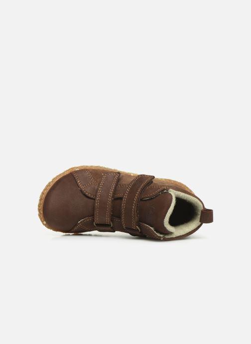 Sneakers El Naturalista Nido 5E-768 Marrone immagine sinistra