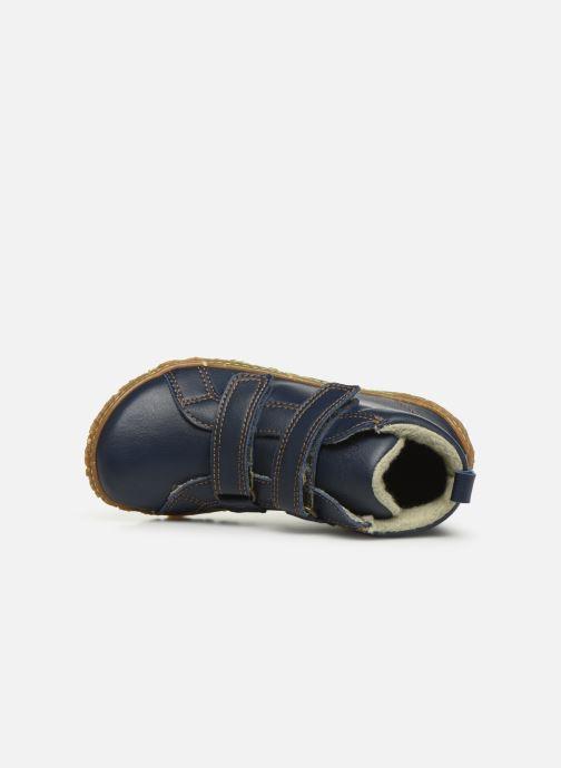 Sneaker El Naturalista Nido 5E-768T blau ansicht von links