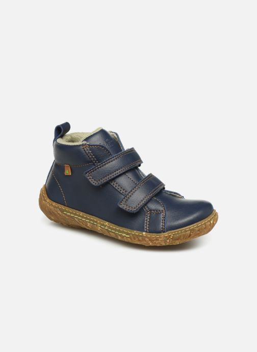 Trainers El Naturalista Nido 5E-768T Blue detailed view/ Pair view