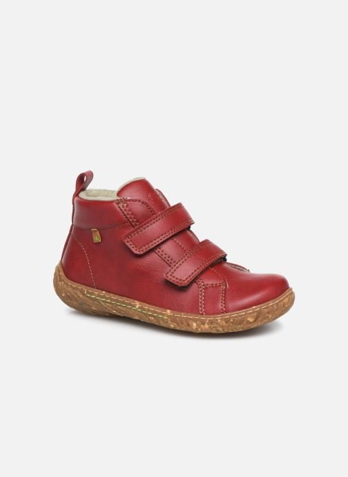 Trainers El Naturalista Nido 5E-768T Red detailed view/ Pair view