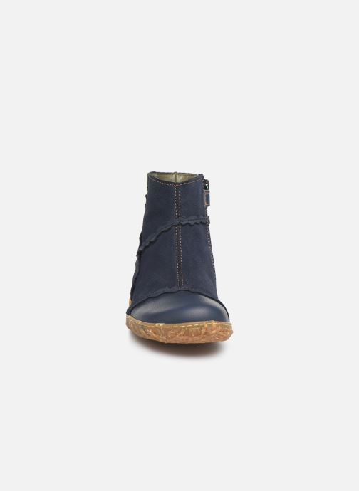 Ankle boots El Naturalista Nido 5E-769 Blue model view