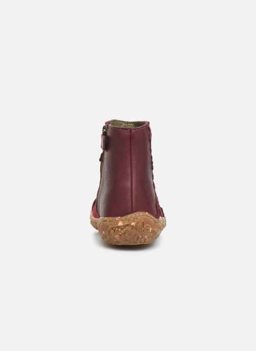 Ankle boots El Naturalista Nido 5E-769 Burgundy view from the right
