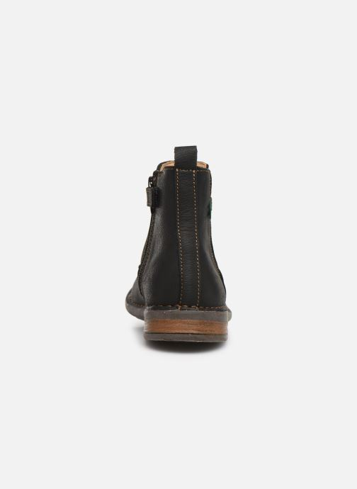 Ankle boots El Naturalista Mojave 5E-878 Black view from the right