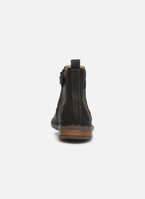 Bottines et boots El Naturalista Mojave 5E-878 Noir vue droite