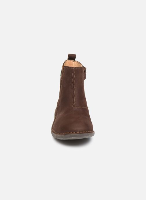 Ankle boots El Naturalista Mojave 5E-878 Brown model view