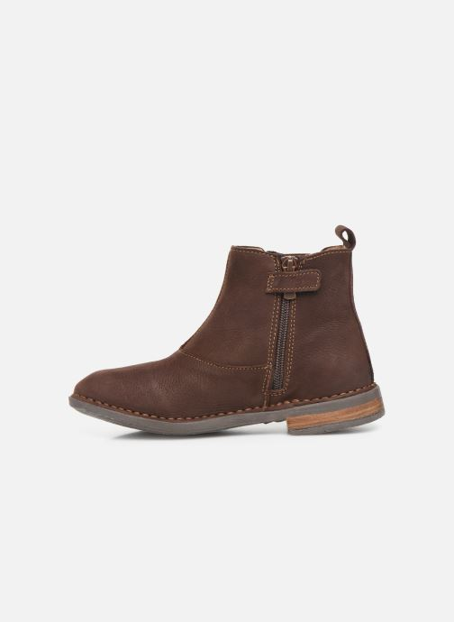 Ankle boots El Naturalista Mojave 5E-878 Brown front view