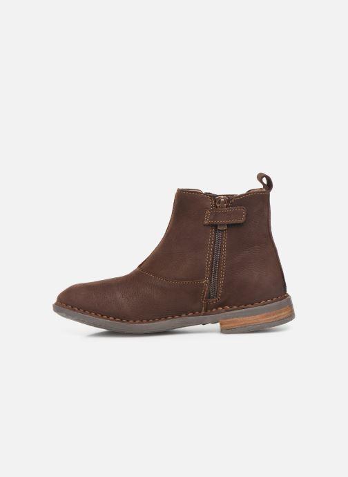 Bottines et boots El Naturalista Mojave 5E-878 Marron vue face