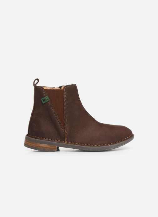 Ankle boots El Naturalista Mojave 5E-878 Brown back view