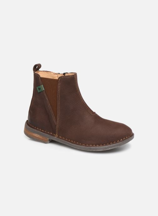 Ankle boots El Naturalista Mojave 5E-878 Brown detailed view/ Pair view