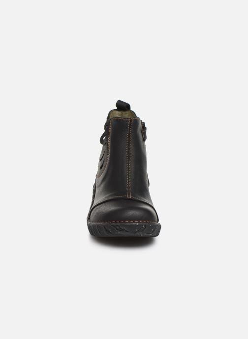 Ankle boots El Naturalista Yggdrasil 5E-124 Black model view