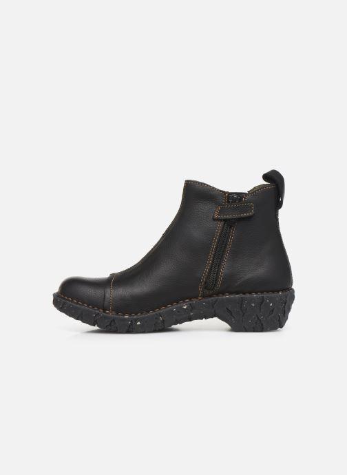 Boots en enkellaarsjes El Naturalista Yggdrasil 5E-124 Zwart voorkant