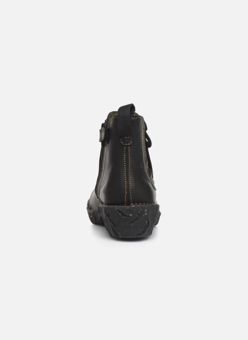 Ankle boots El Naturalista Yggdrasil 5E-124 Black view from the right