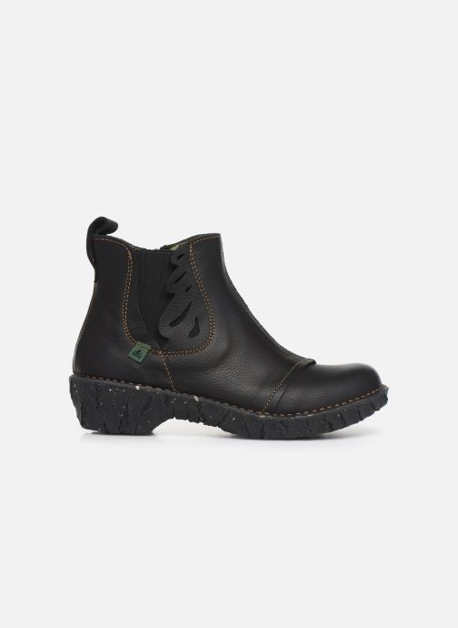 Ankle boots El Naturalista Yggdrasil 5E-124 Black back view