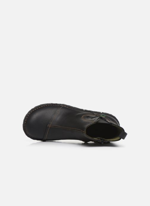 Ankle boots El Naturalista Yggdrasil 5E-124 Black view from the left