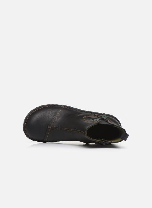 Boots en enkellaarsjes El Naturalista Yggdrasil 5E-124 Zwart links