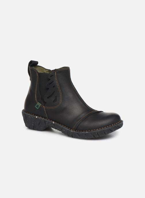 Ankle boots El Naturalista Yggdrasil 5E-124 Black detailed view/ Pair view