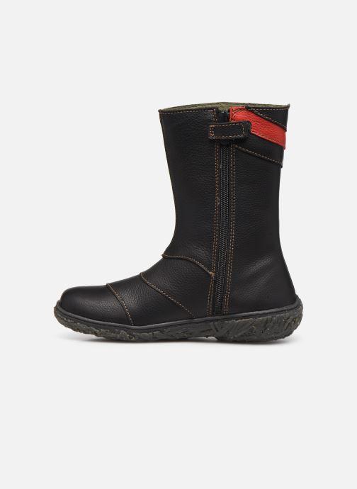Boots & wellies El Naturalista Nido 5E-770 Black front view
