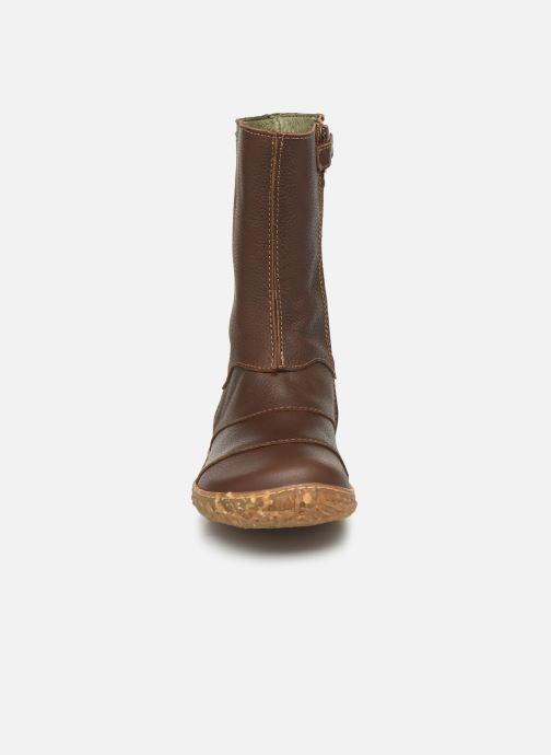 Bottes El Naturalista Nido 5E-770 Marron vue portées chaussures