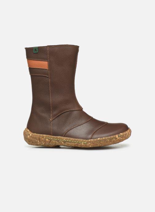 Boots & wellies El Naturalista Nido 5E-770 Brown back view