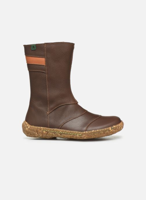 Boots & wellies El Naturalista Nido 5E-770 Brown back view