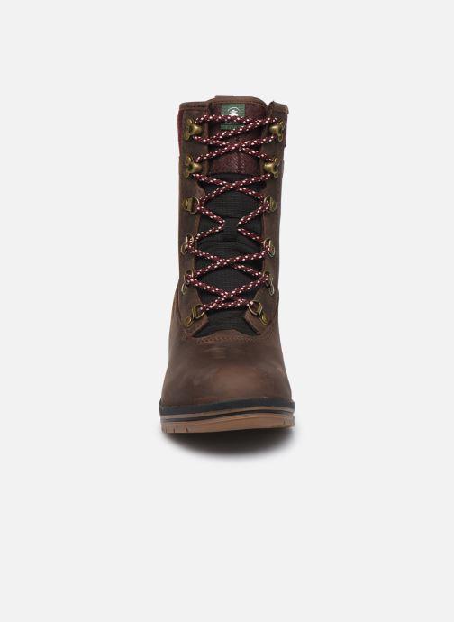 Bottines et boots Kamik JULIET C Marron vue portées chaussures