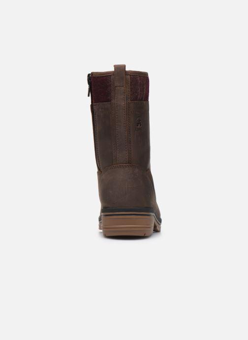 Bottines et boots Kamik JULIET C Marron vue droite