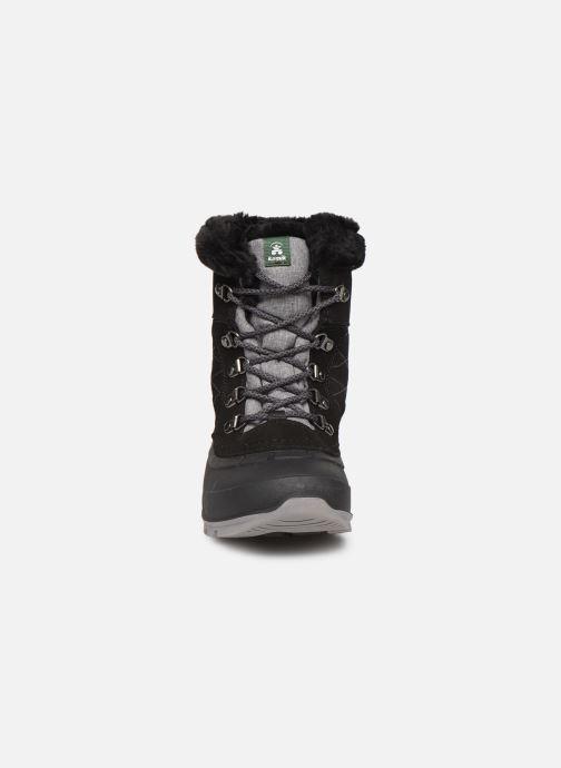 Chaussures de sport Kamik SNOVALLEY L C Noir vue portées chaussures